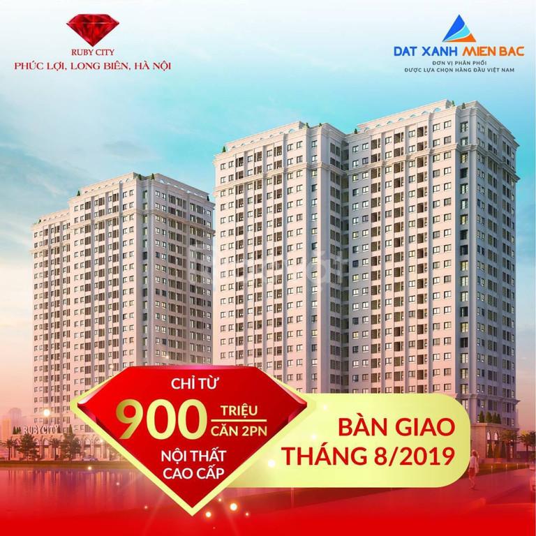 Căn hộ rẻ Long Biên chỉ 900 triệu và nhận thêm nửa cây vàng