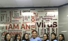 May đồng phục điều dưỡng theo thiết kế tại Hà Nội