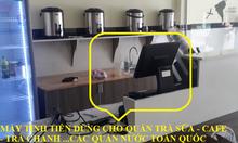 Trọn bộ máy tính tiền cho quán Milk Tea and Coffee giá rẻ
