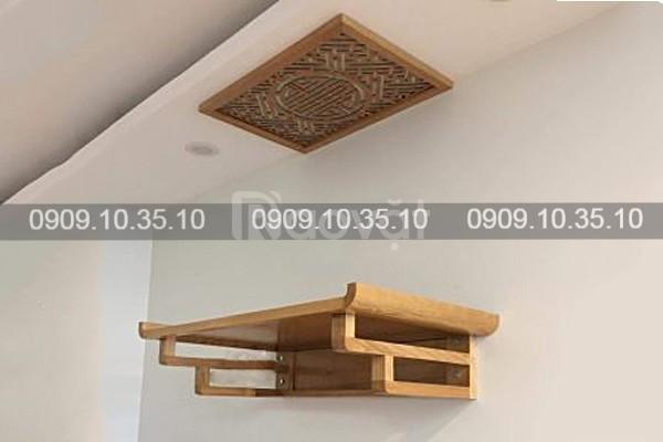 Chiêm ngưỡng một số loại bàn thờ gia tiên bằng gỗ đẹp