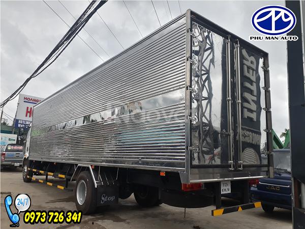 Xe tải FAW 8 tấn thùng dài 9m7 nhập khẩu 100%.