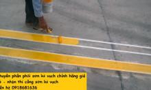 Chuyên bán sơn kẻ vạch màu trắng thùng 18l kẻ vạch đường giao thông