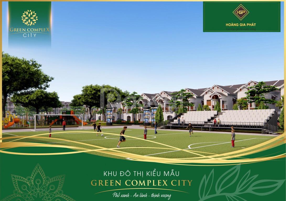 Bán đất nền Bình Định giá rẻ Green Complex City