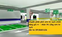 Địa chỉ bán sơn kẻ vạch màu vàng cho nhà xưởng tại Bình Thuận