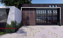 Cổng đẹp cho nhà xinh - Sắt mỹ thuật Nguyên Phong