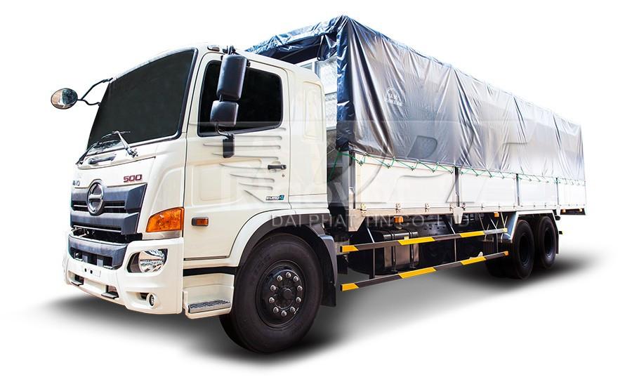 Xe tải Hino 15 tấn thùng dài 9.4 mét