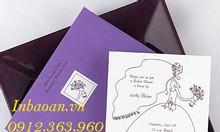 Địa chỉ in thiệp cưới độc quyền, thiết kế thiệp cưới miễn phí