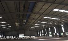 Cho thuê kho xưởng tại Bình Giang Hải Dương DT 2500m2 giá tốt