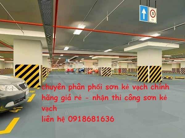 Nhận thi công sơn kẻ vạch cho nhà xưởng, khu công nghiệp tại Đồng Nai
