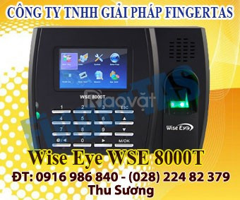 Chuyên cung cấp sỉ lẻ máy chấm công vân tay thẻ cảm ứng 8000t