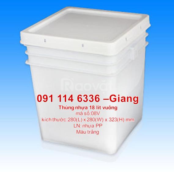 Thùng sơn giá rẻ,sản xuất vỏ thùng sơn,vỏ thùng sơn 1 lít- 30 lít