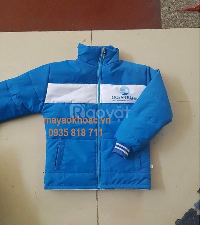 Cắt may áo gió áo khoác học sinh tại xưởng giá rẻ
