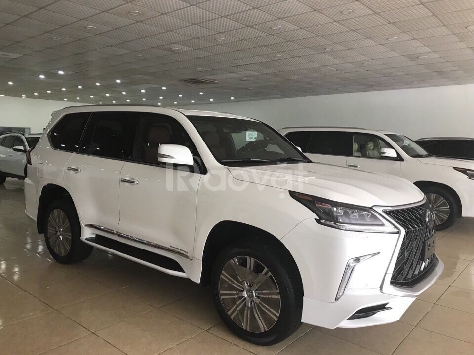 Bán Lexus LX570 4 chỗ sản xuất 2019,4 ghế Massage ,4 cửa hít,màu trắng