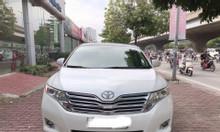 Bán Toyota Venza 2.7 nhập Mỹ, màu trắng nội thất kem, sản xuất 2009