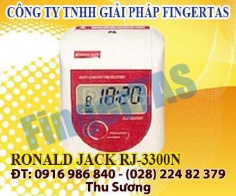Lắp đặt máy chấm công thẻ giấy 3300a/n hàng chính hãng
