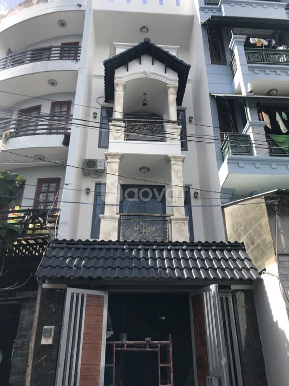 Nhà khu biệt thự Gò Vấp 1T3L 4x16 nhà mới xây