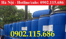 Bán thùng phuy sắt 220l, thùng phuy nhựa 220l mới và cũ giá rẻ