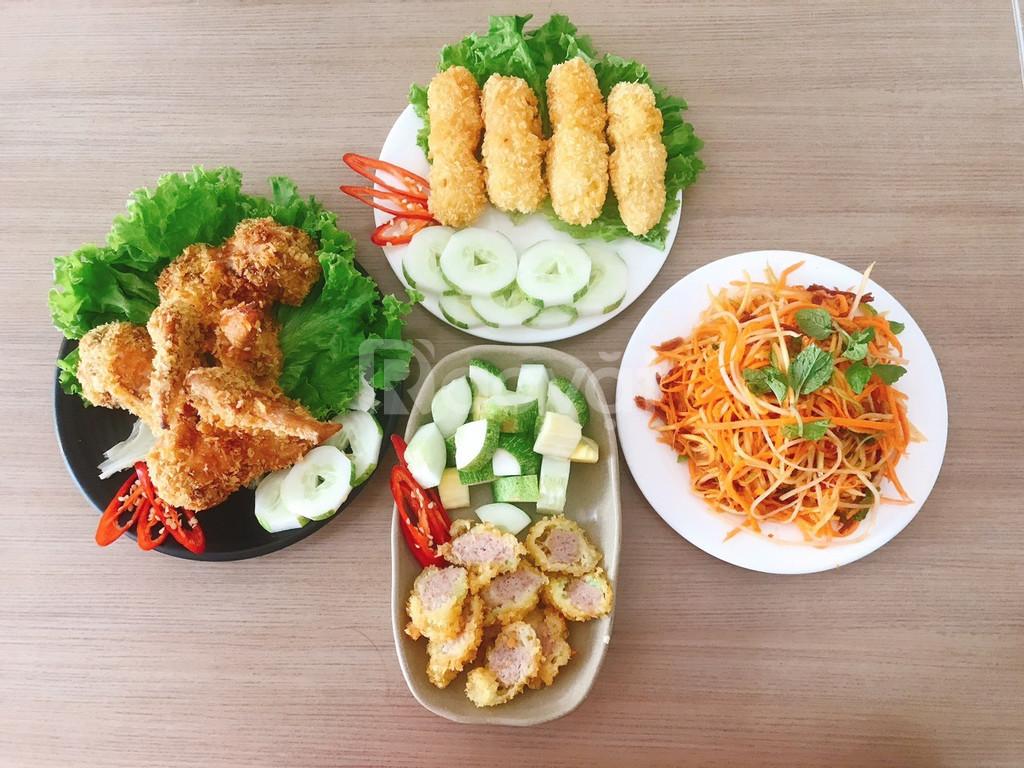 Trung tâm dạy nấu món ăn vặt, trà sữa mở quán tại Đà Nẵng