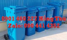 Thùng rác y tế 240 lít trắng, thùng rác y tế 120 lít màu vàng xanh,đen