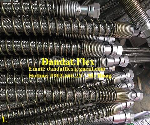 Khớp nối mềm inox lắp bích, khớp chống rung inox 304 (ảnh 3)