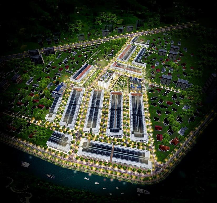 Nhận booking dự án KĐT Chợ Gò Đen Long An mặt tiền 835B giá 12tr/m2