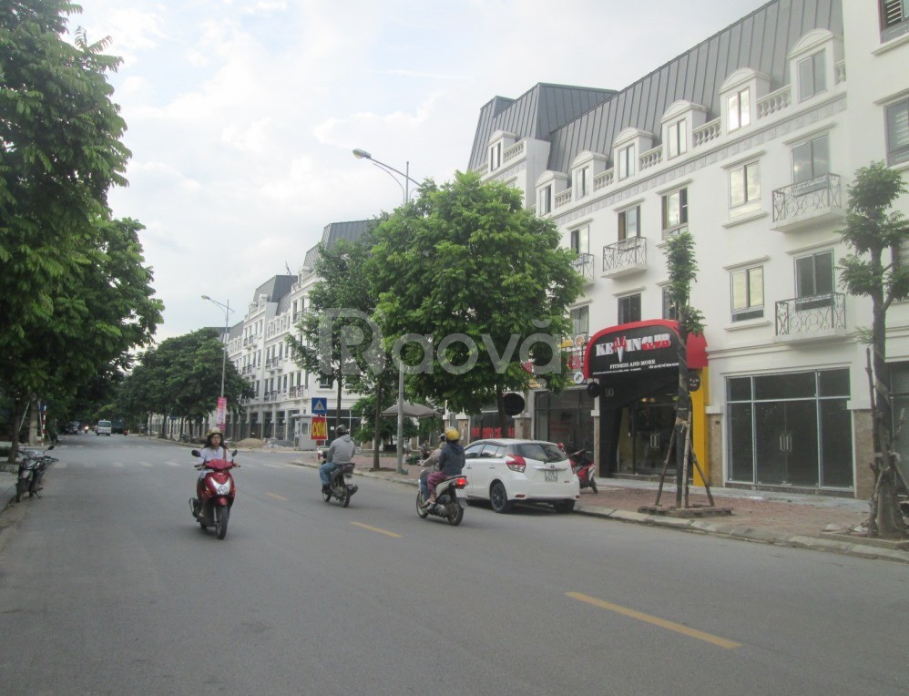 Shophouse mặt phố La Casta 2 thoáng, KD hoành tráng 79m2x4T