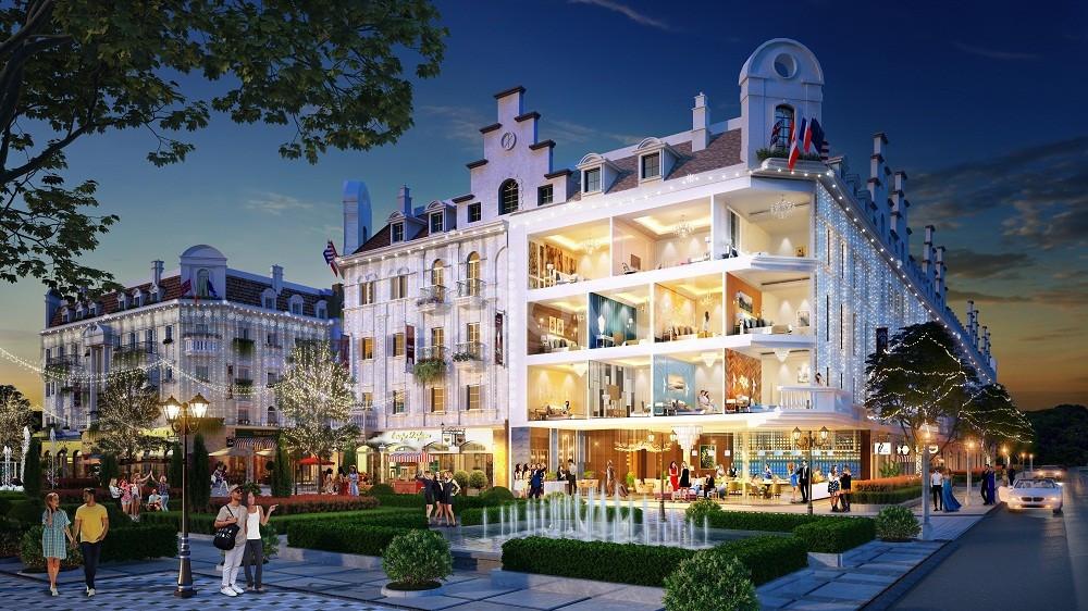 Dãy shophouse đẹp nhất Sun Plaza Hạ Long- chiết khấu ngay 2 tỷ đồng