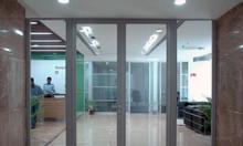 Cửa vách kính ngăn cháy ankovina, cửa kính tự động DNG