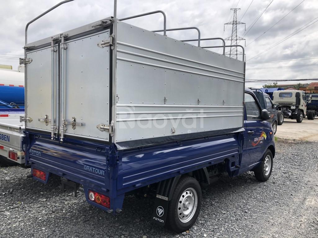 Xe tải foton chính hãng 990kg thùng bạt nhập 2019