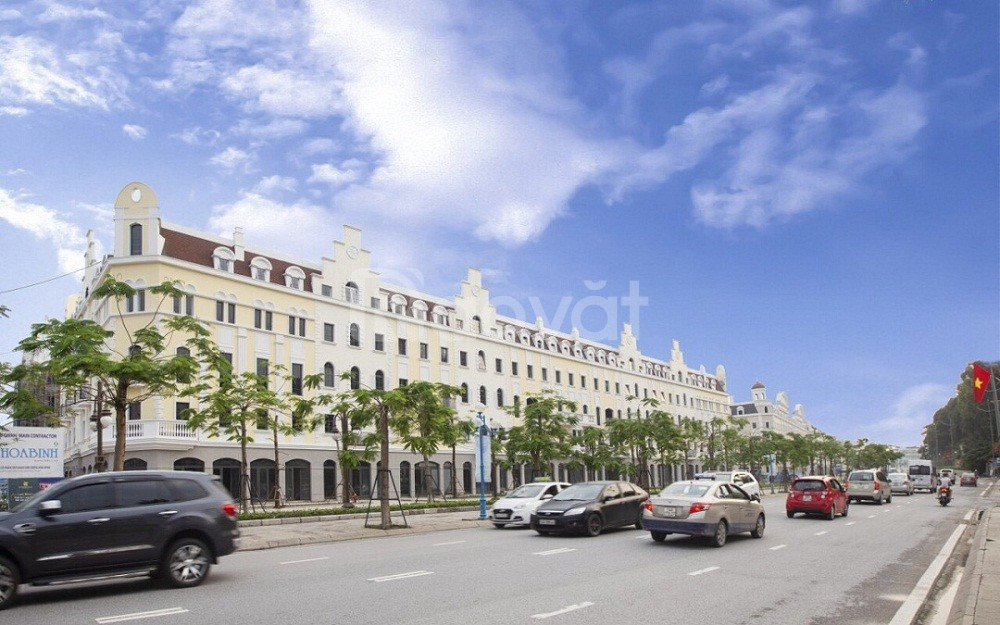 Dãy shophouse đẹp Sun Plaza Hạ Long chiết khấu ngay 2 tỷ đồng