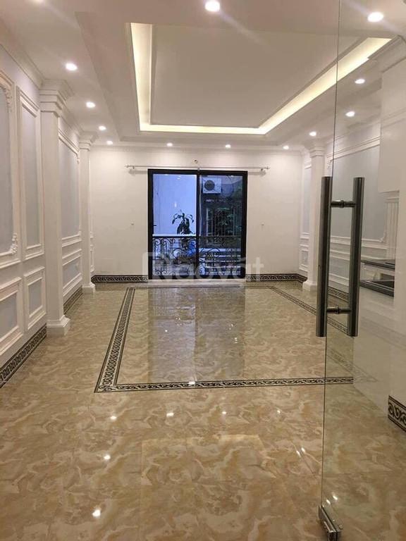 Bán nhà Phố Thái Thịnh diện tích 55m2 mặt tiền 4m5, 6 tầng thang máy gara ô tô