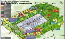 Cần tiền bán 2 lô đất sân bay L/Thành ,nằm ngay trục đg sân bay ra 32m