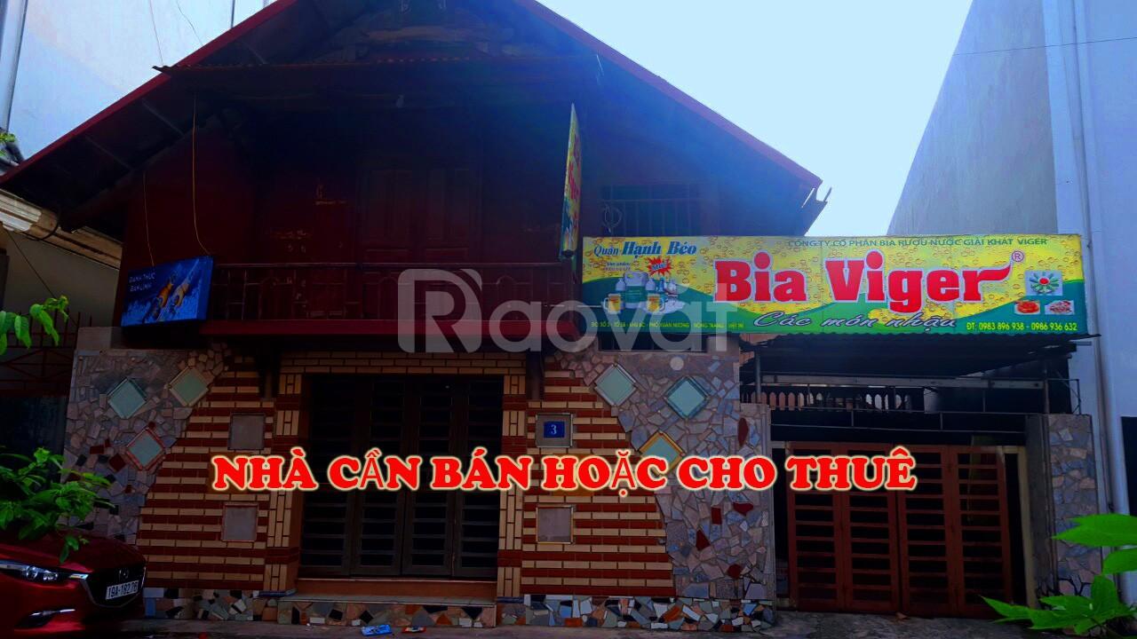 Bán hoặc cho thuê nhà tại Phường Nông Trang