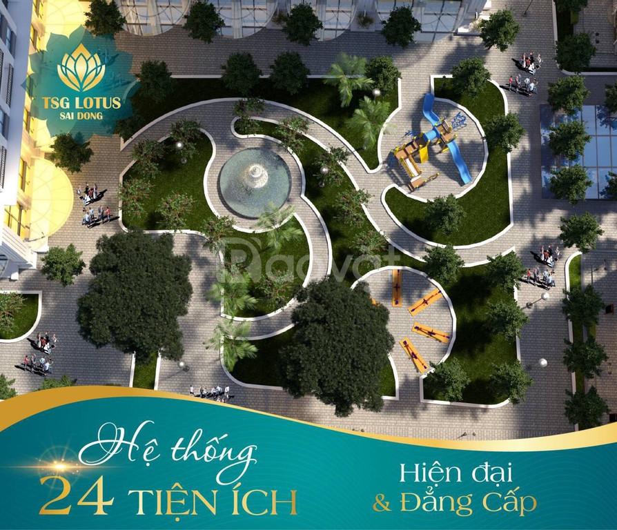Tặng gói quà tặng lên đến 140 triệu cho căn hộ cao cấp quận Long Biên