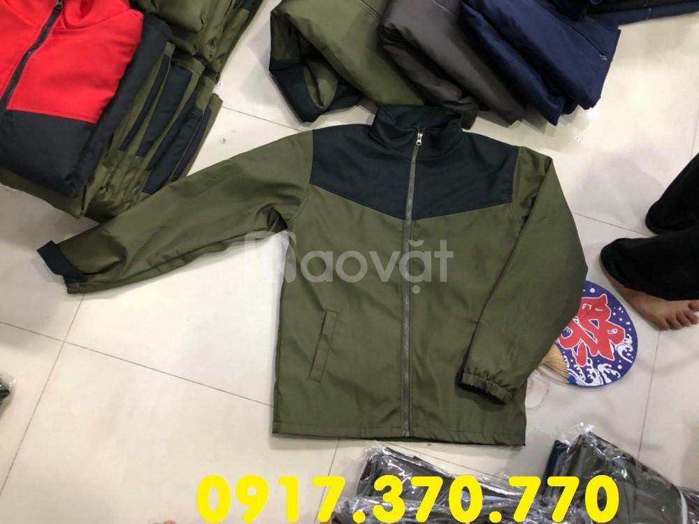 Xưởng may áo khoác theo yêu cầu, áo khoác công nhân giá rẻ