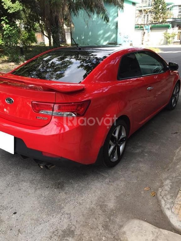 Kia Cerato Đỏ 2010 tự động hai cửa 4 chỗ xe zin nguyên