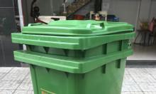Thùng đựng rác nhựa 120 lit nhập khẩu từ Thai Land - giao hàng tận nơi