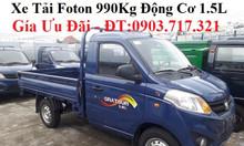 Xe tải Foton 990kg thùng lửng mua xe tải Foton 990kg nhận giá tốt