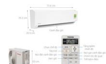 Máy lạnh Toshiba Inverter 1.0hp RAS-H10D1KCVG-V