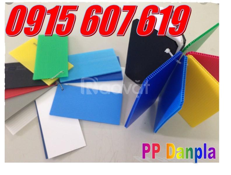Tấm nhựa PP Danpla rỗng, sự lựa chọn hoàn hảo