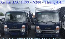 Xe Jac đầu vuông 1t99 động cơ Isuzu xe tải Jac 1T99 Isuzu mới 2019