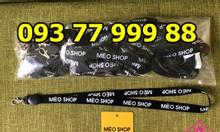 Cơ sở sản xuất dây đeo thẻ, xưởng sản xuất dây đeo thẻ nhân viên