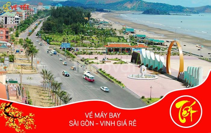 Vé máy bay Tết Sài Gòn Vinh khi nào mở bán?