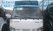 Bán xe tải Isuzu VM 1T9 (NK490SL4). Giá  xe tải VM 1T9 thùng 6m2