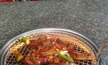 Bếp nướng than hoa không khói hàn quốc ,bếp nướng âm bàn hút trên