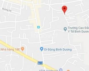 Bán nhà sau báo Bình Dương, Phú Hòa, Thủ Dầu Một, Bình Dương, giá rẻ.
