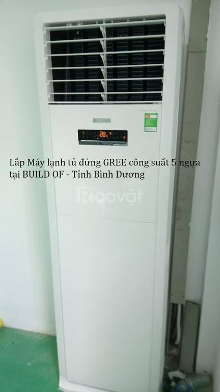Phân phối máy lạnh tủ đứng Gree