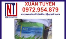Bao bì lúa giống 1kg ghép màng
