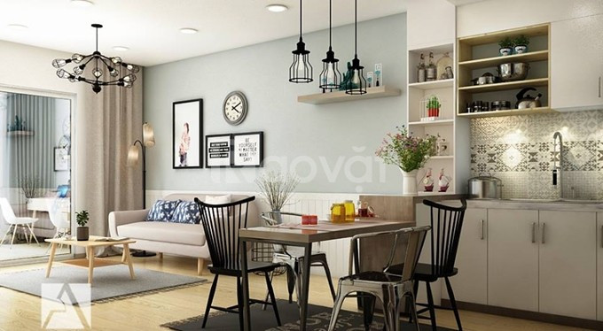 Cho thuê căn hộ Thăng Long Number One 138m, 4PN full nội thất