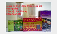 Màng co POF giá 53.000đ/kg tại kho Hà Nội